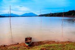 Sea Lake. Gia Lai, Viet Nam royalty free stock photo