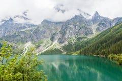 Sea Lake - Polish Tatra mountains Stock Image