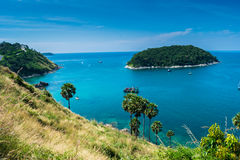 Sea lampromphep phuket thailand. Sea lam promphep phuket thailand Royalty Free Stock Photos