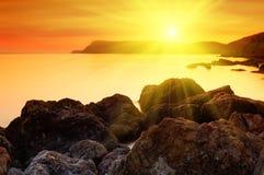 Sea landscape Stock Photography