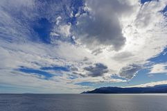 Sea and landscape at Peloponnese, Greece. Stock Photos