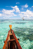 Sea landscape on the boat in Guam Stock Photography