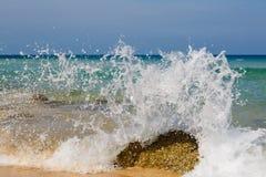 Sea landscape, the coast, wave Stock Photos