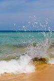 Sea landscape, the coast, wave Stock Images