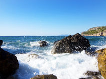 Sea. Landscape with crystalline water Stock Photography