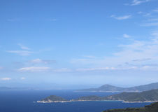 Sea and landscape of Elba Island Royalty Free Stock Image