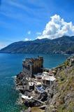 A small bay on the Amalfi coast, Italy. stock photography