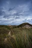 Sea Landscape on German Island. In August stock photography