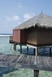 Sea landscape, Maldive islands Stock Photos