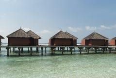 Sea landscape, Maldive islands Royalty Free Stock Images