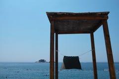 Sea landscape Montenegro Petrovac Stock Image