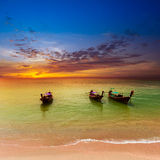 Sea landscape nature background. Thailand background Royalty Free Stock Photography