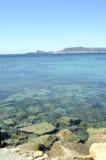 Sea landscape near bandol, France Royalty Free Stock Image