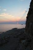 Sea landscape near  Petrovac city Montenegro Stock Photography