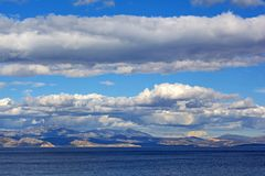 Sea and landscape at Peloponnese, Greece. Stock Photo
