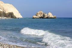 Rocks in sea water Royalty Free Stock Photo