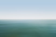 Sea landscape. Seascape photographed on a summer day Royalty Free Stock Images