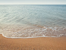 Sea landscape. Seascape photographed on a summer day Stock Image