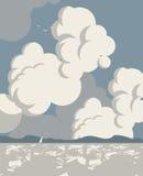 Sea Landscape sky Stock Photos
