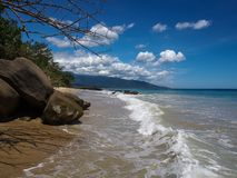 Sea landscape - tropical beach Caracas, Venezuela Royalty Free Stock Image