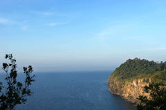 Sea lanscape from view point Stock Photography