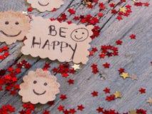 Sea las resoluciones de la Feliz Año Nuevo Imagenes de archivo