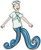 Sea Legs Royalty Free Stock Photos