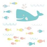 Sea life clipart Royalty Free Stock Photos