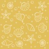 Sea life pattern Stock Photography