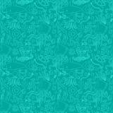 Sea life pattern. Seamless summer sea animals texture tiling pattern background vector illustration