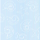 Sea Life Seamless Pattern With Stripes Stock Image