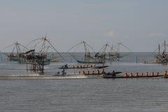 Sea life transport. Of many Buddhist novice in Thailand Stock Photo