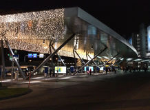 Sea of Lights at Zurich Airport ZRH Stock Photography