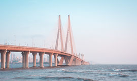 SEA LINK, MUMBAI. SEA LINK, BANDRA-WORLI MUMBAI Royalty Free Stock Images