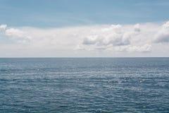 Sea At Lipe Island in Thailand. Beautiful Clear sea with clouds in Lipe Island at Thailand Royalty Free Stock Image