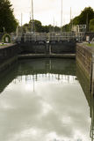 Sea lock on Lydney Canal Royalty Free Stock Photo