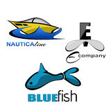 Sea Logos Stock Photo