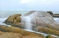 Sea long exposure Stock Image
