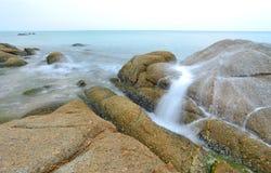 Sea long exposure Stock Images