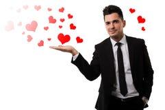¡Sea los míos para el día de tarjeta del día de San Valentín! Imagen de archivo