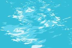 Sea_ low_waves διανυσματική απεικόνιση
