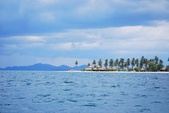 Sea. Luxuary resort at front of Koh Muk Royalty Free Stock Photo