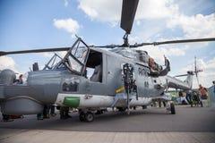 Sea-Lynx allemand sur le salon de l'aéronautique de Berlin Photos libres de droits