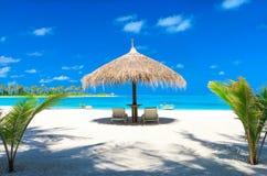 Sea in Maldives Stock Image