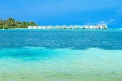 Sea in Maldives Stock Photography