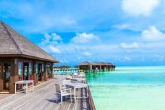 Sea in Maldives Stock Photo