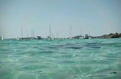 Sea. In Mallorca Stock Images