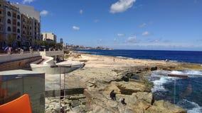 Sea malta Royalty Free Stock Images