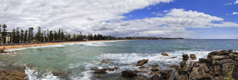 Sea Manly Beach Day Stock Photo