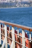 From the sea of Marmara by ferry Royalty Free Stock Image
